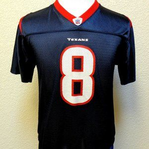 TEXANS CARR #8 JERSEY YOUTH 18-20 XL